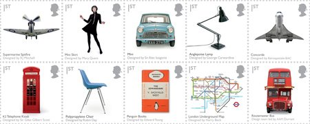 The best of British stamps