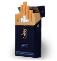 JPS Blue - your bargain price badly branded cigarette