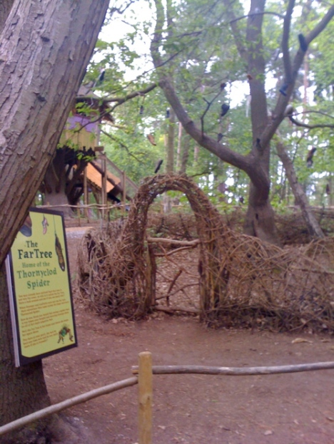 The Far Tree at BeWILDerwood - A truly embedded brand