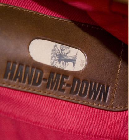 Howies 'Hand me down' Messenger Bag