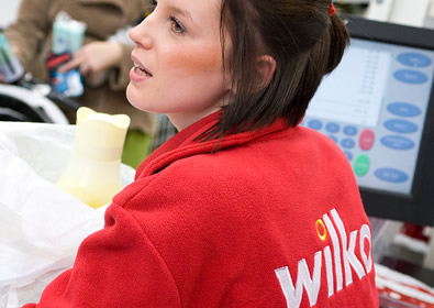 The new Wilkos staff uniform