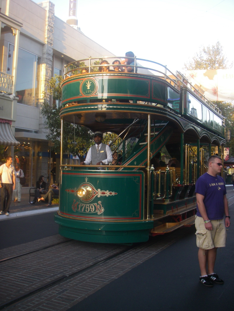 And it comes complete with its own trolley bus