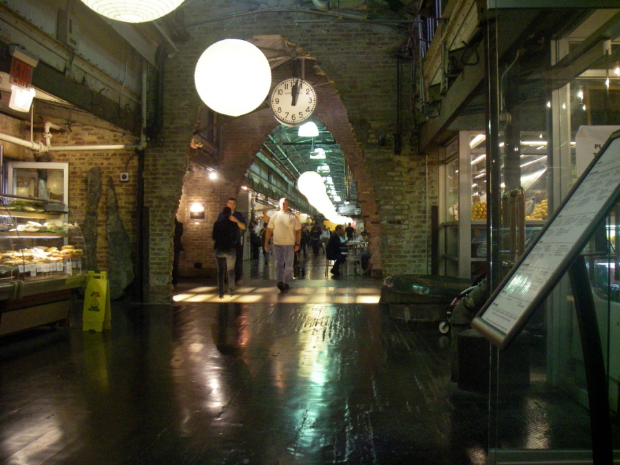 Chelsea market - an amazing use of an old biscuit factory that has real character