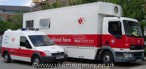 give blood the easy way by taking the collection points where they're needed