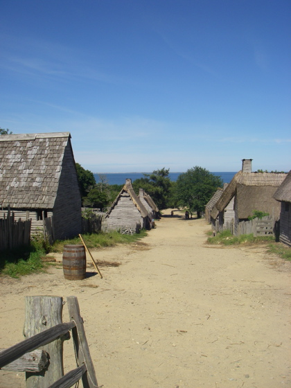 The Beautiful simplicity of Plimouth Plantation - an historically accurate town from our past