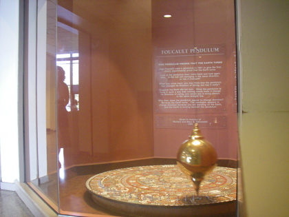 The Foucault Pendulum at the Museum of Science, Boston
