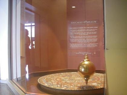 The Foucault Pendulum at the Museum of Science, Boston