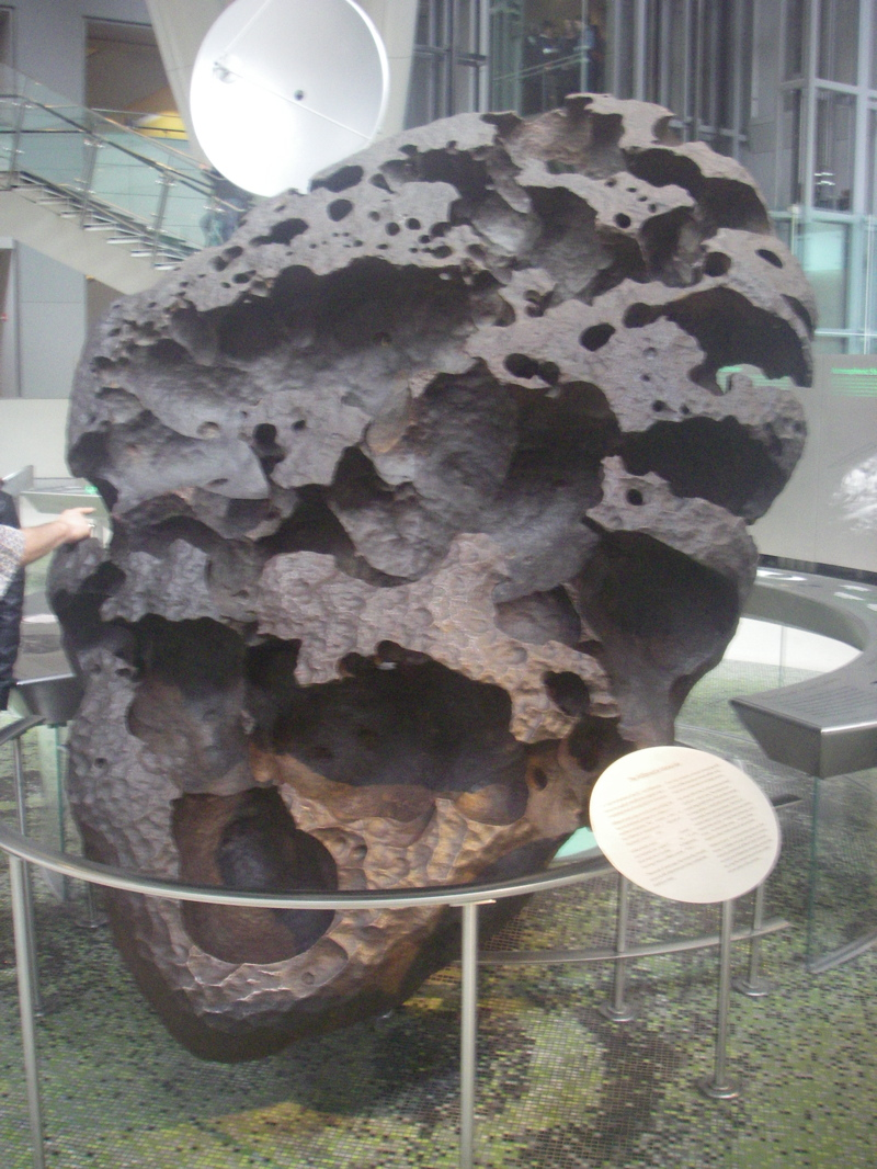 The WiIlamette Meteorite which weighs 15.5 tons