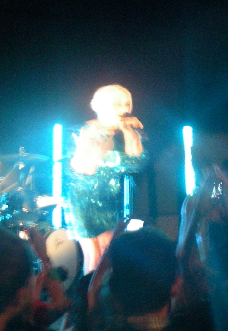My own rather poor effort at capturing Little Boots in all her shiny glory in poor light
