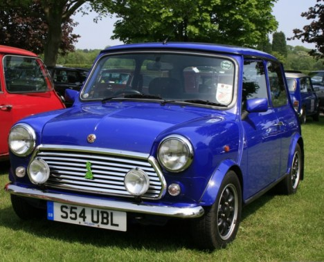 The rather more tasteful Paul Smith Mini in blue