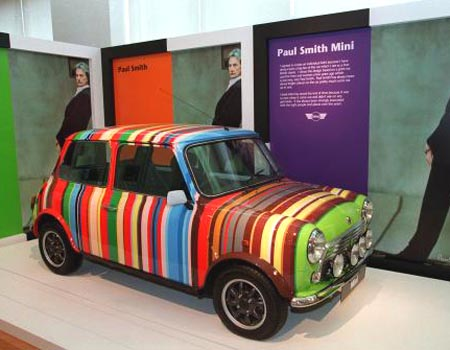 The Paul Smith Mini in full stripy loveliness - one of only two made