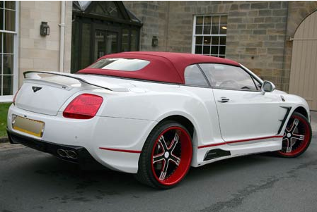The Bentley that Stephen Ireland 'customised' for his girlfriend - Class, pure class