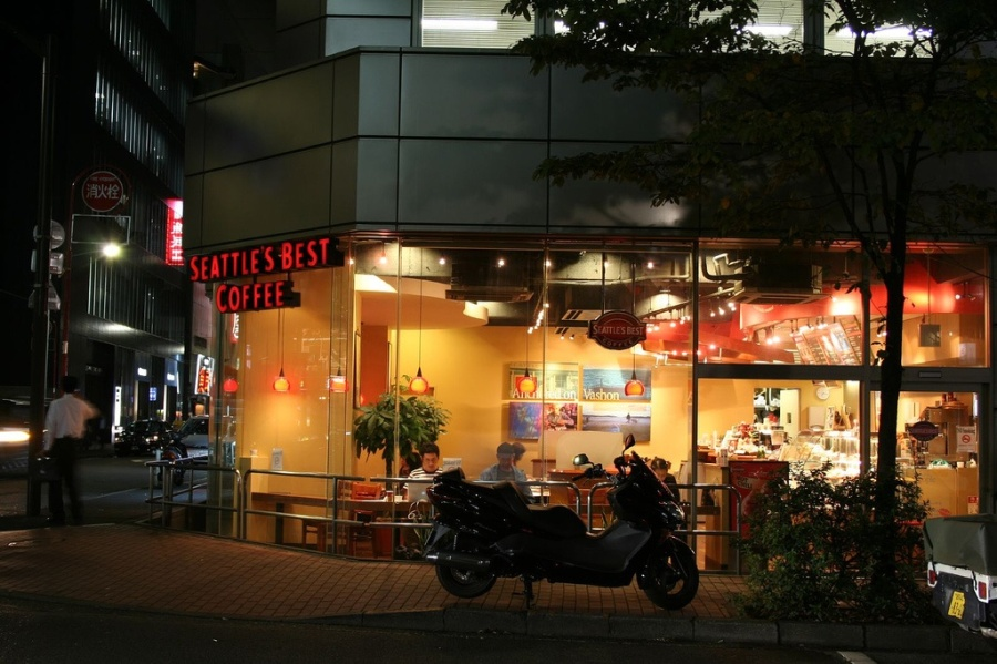 Seattle's best coffee and now in Japan?