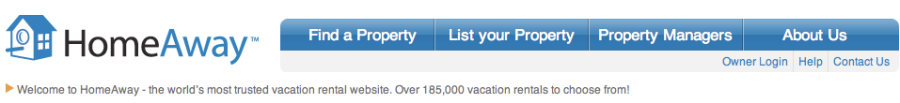 www.homeaway.com the US based version