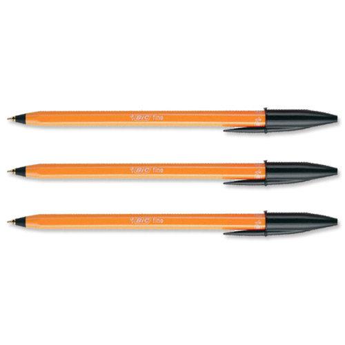 Bic Orange pens - the staple of any pencil case