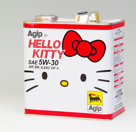 Hello Kitty Engine Oil - The stupidest brand extension ever?