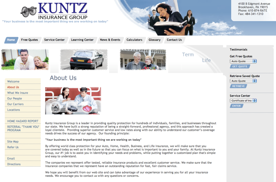 Insurance by Kuntz for silly people