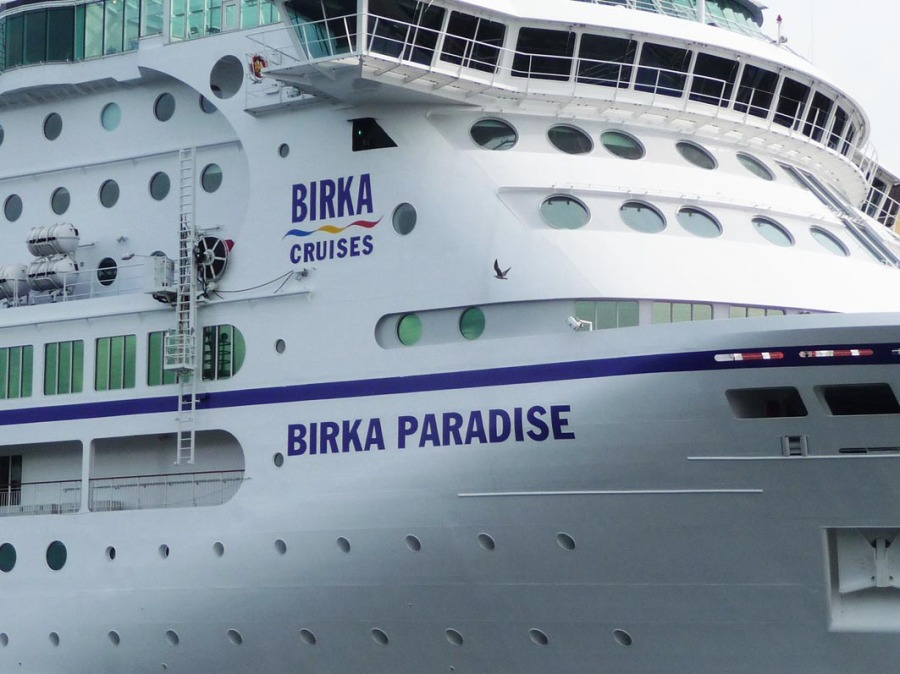 The Birka Cruises cruise ship - it's a Birka paradise