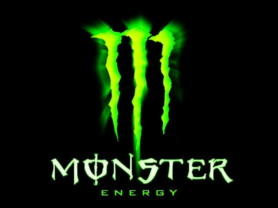 A big Monster Energy Logo