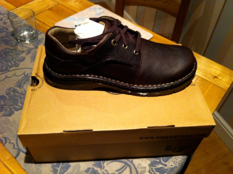 My Brand New Doctor Marten shoes