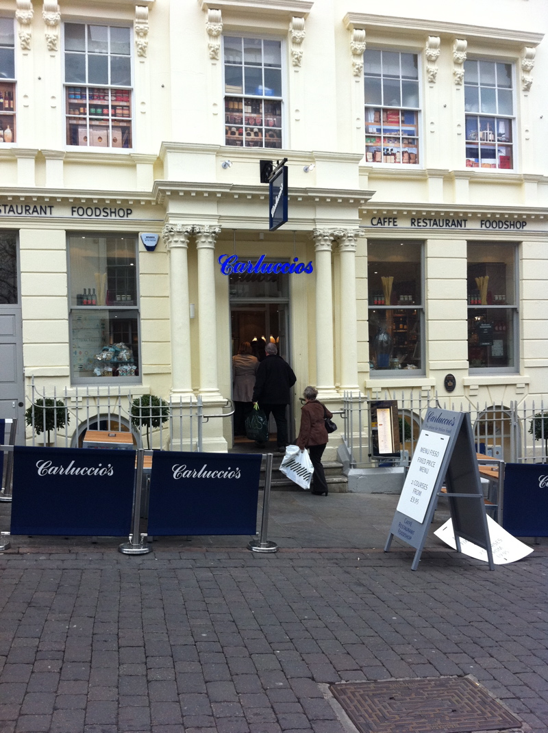Carluccio's Nottingham - Lovely simple, light, airy, friendly, tasty, Italian food