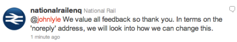 National Rail - A minor triumph for the little man