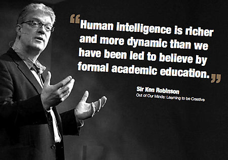 Sir Ken Robinson - Educational super hero