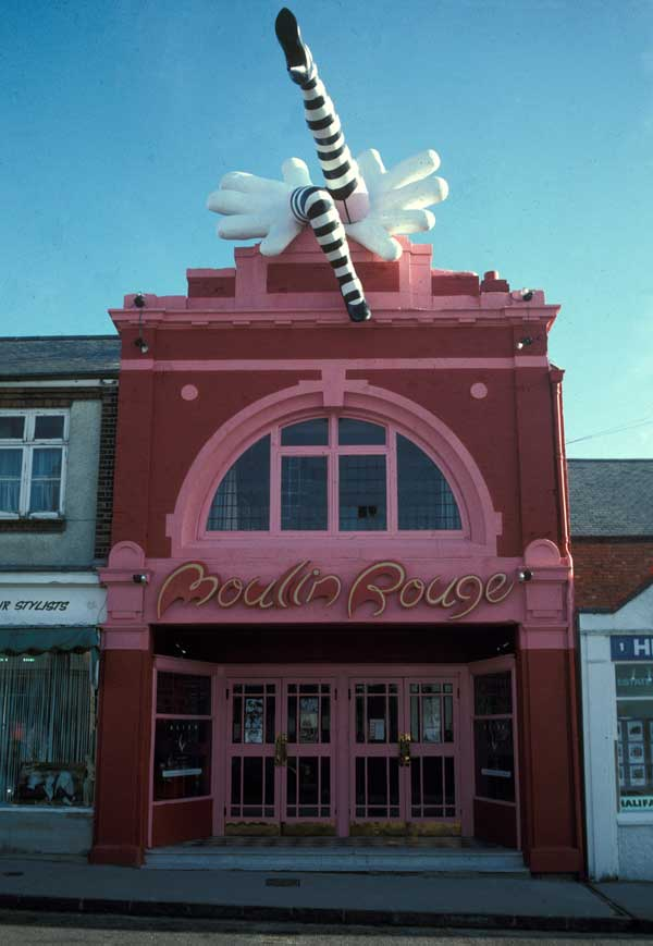 The Moulin Rouge Cinema in Oxford - Sadly no more, but the legs were amazing