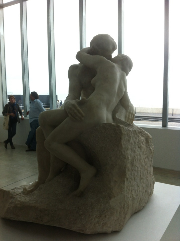 Rodin's Kiss at the Turner Contemporary in Margate