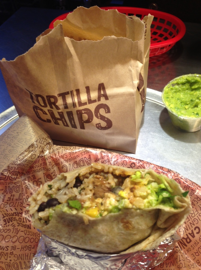 Chipotle Burrito - One of the nicest things I have ever eaten