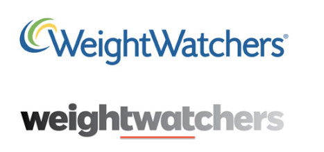 Weightwatchers logo - before and after - This may make you feel a bit of a twat
