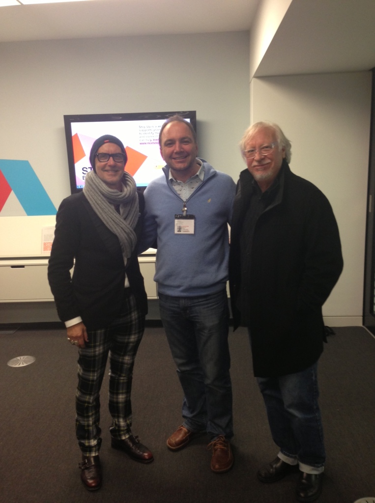 Alfredo Muccino, Johnny Lyle and Marty Neumeier
