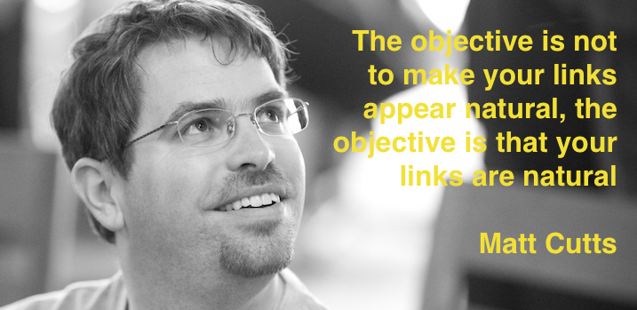 Matt Cutts - The new rules of SEO