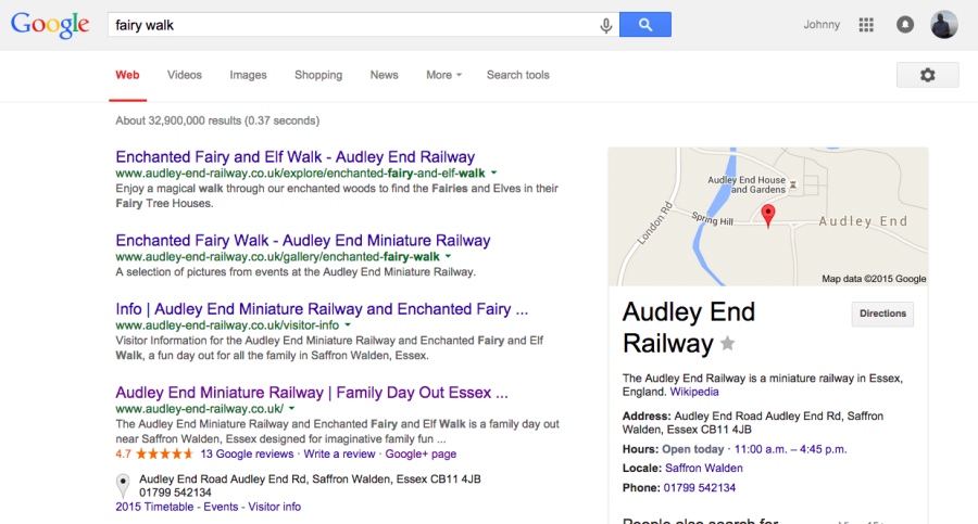 If you want to be found for a particular search term, then this is how you do it. Brand based SEO by Johnny Lyle