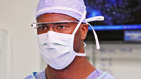 Google Glass courtesy of Fast Company