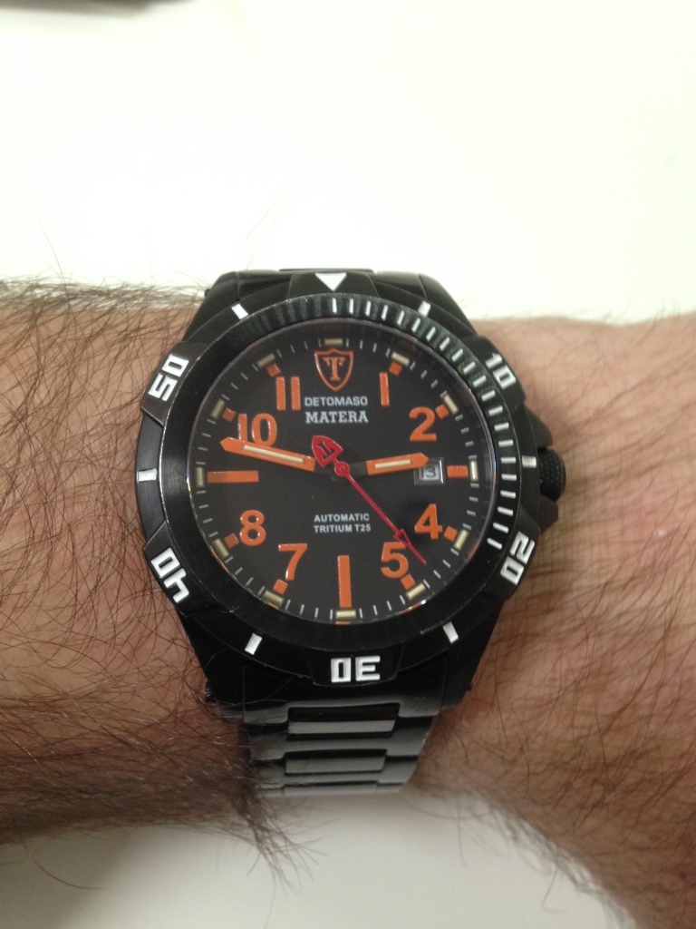 This is why you don't need an Apple Watch - The DeTomaso Matera Automatic watch
