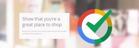 google certified shop badge