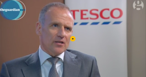 Dave Lewis, Tesco chief executive