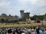 And then the big castle in the background starts movimg towards you at Puy du Fou