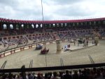 And they don't hold back, moving at amazing speed around the track at Puy du Fou