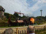 huge explosions at the Viking show at Puy du Fou