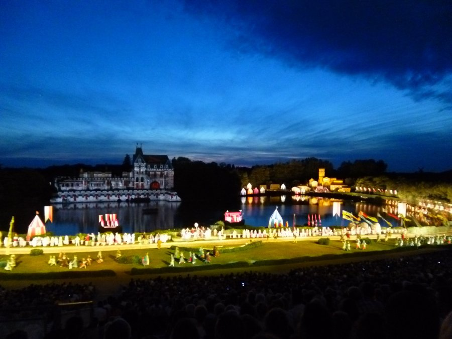 The biggest cast of any permanent show anywhere in the world at Puy du Fou
