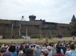 The Knights move in at the secret of the lance at Puy du Fou