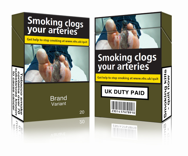 Plain packaging for Cigarettes in the UK