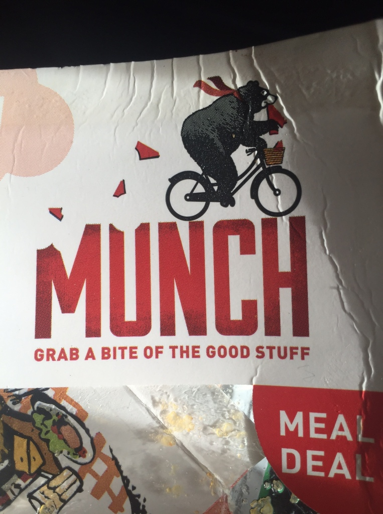 WH Smith Munch Sandwich a brand with totally fake values