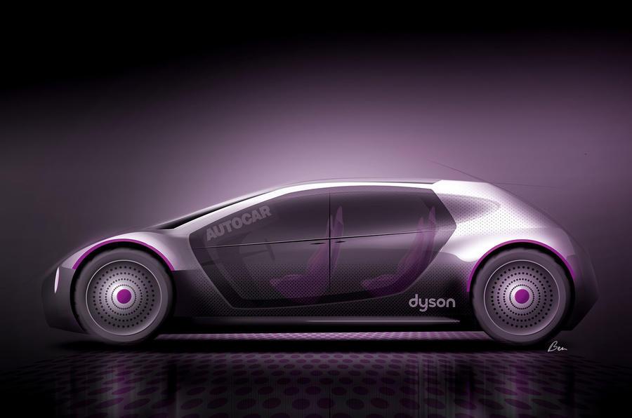 Dyson car by Autocar